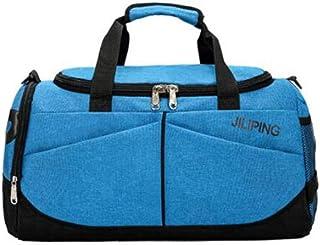 Mens Tide Training Yoga Bag Single Shoulder Diagonal Travel Bag Sports Bag Wet and Dry Separation Swimming Bag Large Capacity Fitness Bag Large Size: 502425cm