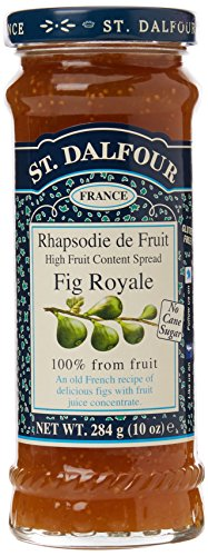 St Dalfour Fig Royale Fruit Spread 284 g (order 6 for trade outer)