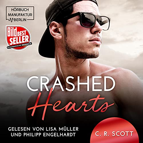 Crashed Hearts (German edition) cover art
