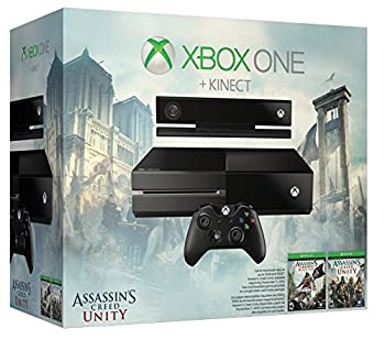 Xbox One with Kinect  Assassin s Creed Unity Bundle 500GB Hard Drive
