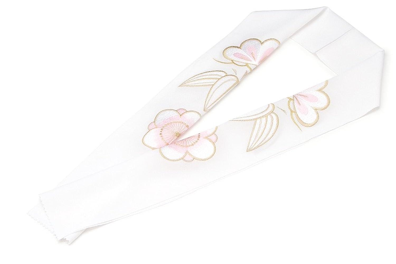 (ソウビエン) 半衿 白 ホワイト 金色 ピンク 松竹梅 刺繍 正絹 振袖向け 婚礼衣装向け 成人式 結婚式 盛装 フォーマル 日本製 半襟 はんえり 和装小物 女性 レディース