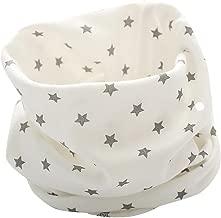 K-youth® Otoño Invierno Estrellas Patrón Algodón Pañuelos Niños Niñas O Cuello Bufanda Bebé