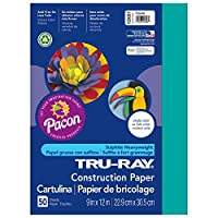 Pacon 104120 Tru-Ray Construction Paper- 76 lbs.- 9 x 12 & 12 x 18- Assorted-2000 Shts/Ctn