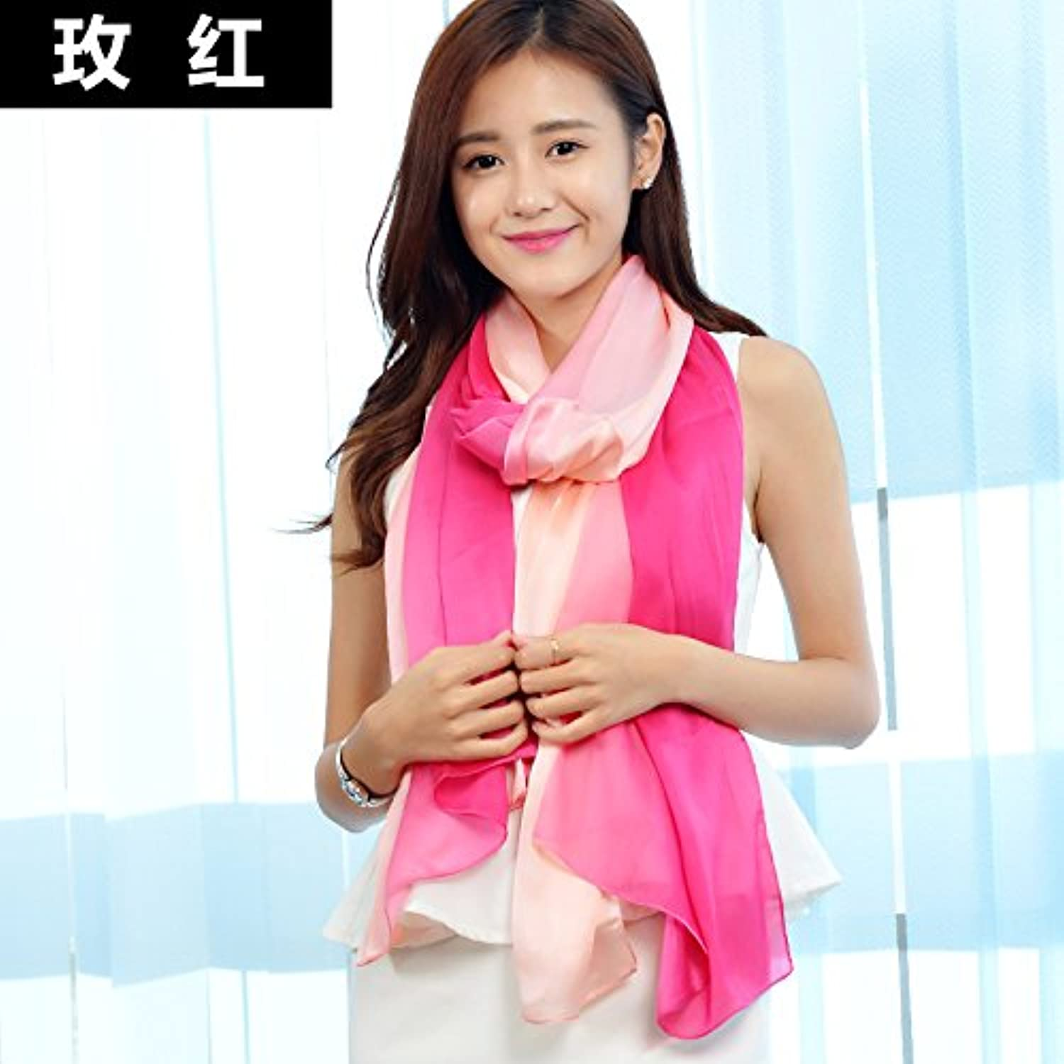 WYMBS Women's Scarf Winter Long Section Solid color Scarves Spring Autumn Shawl Fashion,L