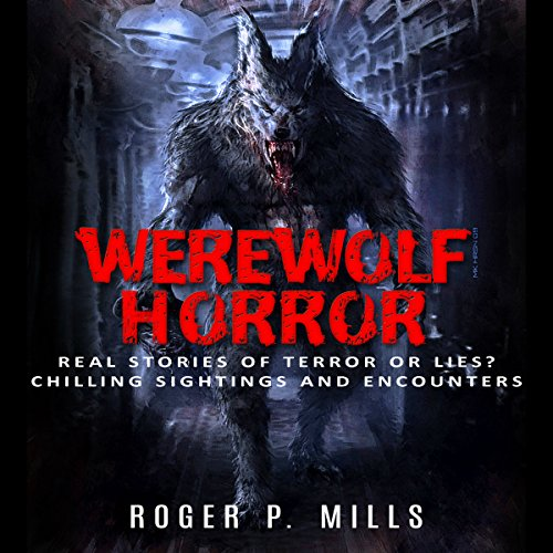 Werewolf Horror audiobook cover art