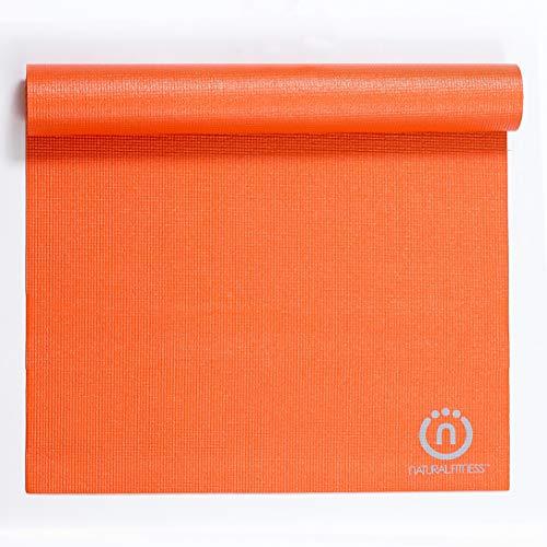 Lifeline Natural FitnessEcoSmart Yoga Mat3mm  Orange Multiple Colors Available