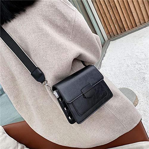 BGIUHFW kleine tas vrouwen tas mode wild in brede band dames schouder schoudertas