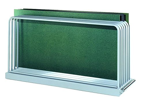Metall-Meister Tafelregal Blechtafelregal 1000x560x2030 HxBxT bis Tafelgröße 3000x2000mm 6 Fächer