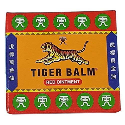 The Worldwide Mint Balsamo di Tigre Rosso, confezione da 3