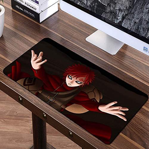 Gaming-Mauspad Große XL-Mausmatten für rutschfeste wasserdichte Bürotische Pad Ninja Anime Boy Pattern Big Mousepad mit speziell strukturierter Oberfläche für Tastatur, PC