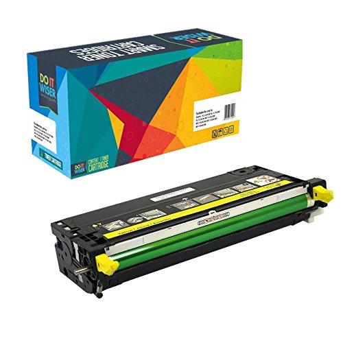 Do it Wiser Kompatible Toner als Ersatz für Dell 3110CN 3115CN 3110 3115 (Gelb)