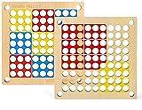 Barir Rompecabezas Juego de Mesa, con cajón Número Rompecabezas de Madera de Juguete de Madera Sudoku Sudoku Juego de Tablero gomoku 2 en el Juego de Mesa de Juguetes educativos 1 de los niños