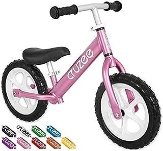 "Cruzee Two 12"" Aluminium Balance Bike Pink"