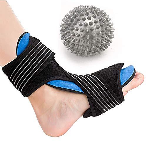 Fascitis plantar Férula nocturna Unisex Se adapta al soporte para el arco del pie derecho o izquierdo Tobillera Soporte para la noche Alivio efectivo del dolor para el tendón de Aquiles Caída del pie