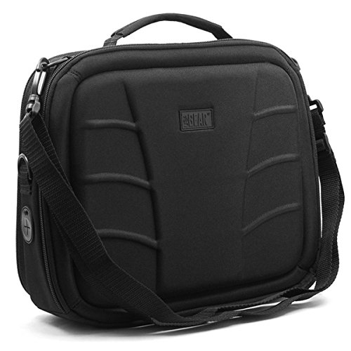 USA Gear Custodia da Viaggio Supporto Auto Lettore Dvd Portatile e Tablet da 7' a 10'' con Strap per, DBpower, Apple iPad, Koolertron e Altri