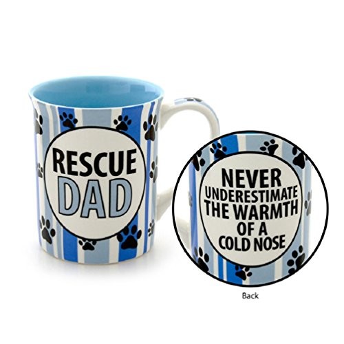 Rescue Dad - Dog Rescue Coffee Mug 16-ounce Lorrie Veasey
