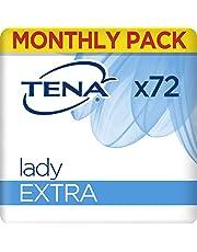 TENA Discreet Extra, Compresas Incontinencia - 72 Unidades (6x12)