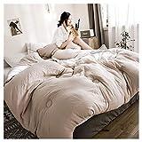 GELing Bettwäsche-Set - Mikrofaser Bettbezug und Kissenbezug,Farbe 9,150X200cm 2.5kg