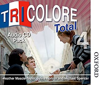 Tricolore Total 4 Audio CD Pack (8x Class CDs 2x Student CDs)