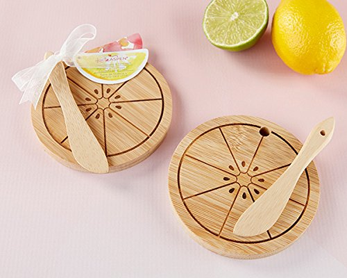75 SETS Citrus Cheeseboard and Spreaders