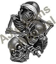 See No Evil Speak No Evil Hear No Evil Skulls
