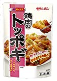 モランボン 韓の食菜 鶏肉のトッポギ 200g