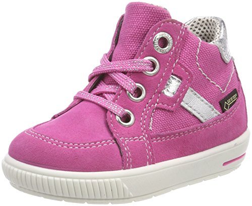 Superfit Baby-Mädchen Moppy Surround Sneaker, Pink (Pink Kombi), 25 EU