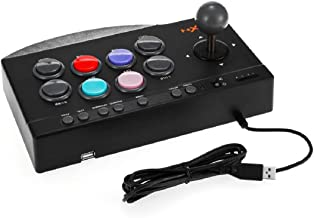 Chliste PXN Arcade Fight Stick, USB Wired Fighting Joystick Game Controller for PS4 / PS3 / Xbox One/PC Fighting Games