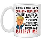 Grande idea regalo per idee di compleanno, divertenti tazze per colleghi, regali di Natale per uomo e donna, tazza da caffè bianca 311,8 g