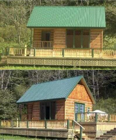 16x24 Cabin Plan Package, Blueprints, Material List, Complete Instruction Guide