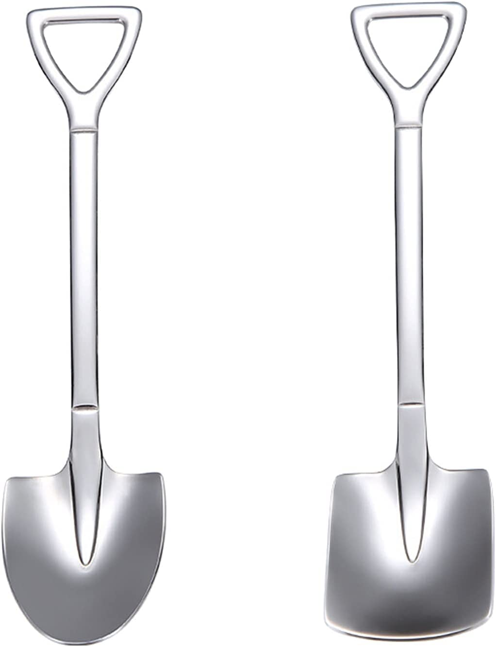 Cooking spoon 2 Pack Stainless Steel 5 ☆ popular Many popular brands S Home Spoon Shovel Dessert