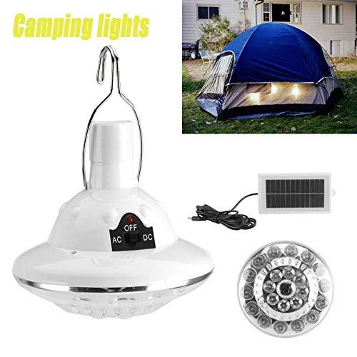 22 LED Lámpara con Mando a Distancia, Bombilla Solar portátil para la casa o el Camping al Aire Libre
