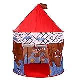 YAMMY Carpa para niños Kis Play Tent Pirate Printed Outdoor Playhouse Juguetes Playhouse Play Tent Niños Interior Childrens Teepee Girls and (Carpa)