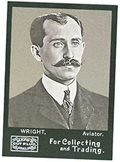 Orville Wright trading card 2008 Topps Mayo Football #80 Aviator Unsigned