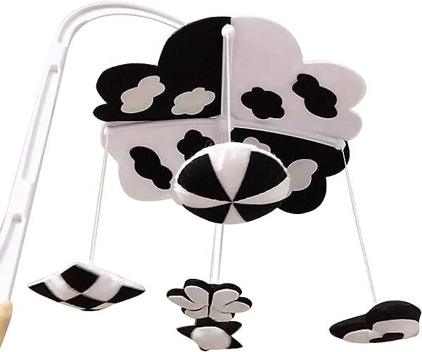 婴儿婴儿床铃铛婴儿床悬挂玩具婴儿床可爱装饰黑白 1