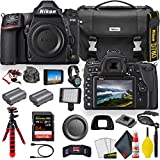 Nikon D780 24.5 MP Full Frame DSLR Camera (1618) - Video Bundle - with Sandisk Extreme Pro 64GB Card + Rode Mic + 4K Screen + Sony Headphones + ENEL15 Battery + Nikon Case + More (Renewed)