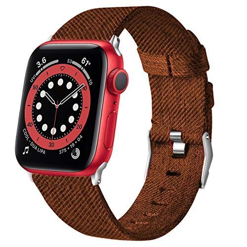 Para apple watch band series 5 6 se 44mm 40mm correa para iwatch 4 3 2 42mm 38mm pulsera de tela suave tejida hombres mujeres correas de reloj