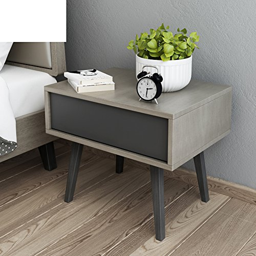 Buy Bargain FJIWDTGYHFGT Nordic Bedside Table,Simple Modern Wooden Bedside Table Small Apartment Min...