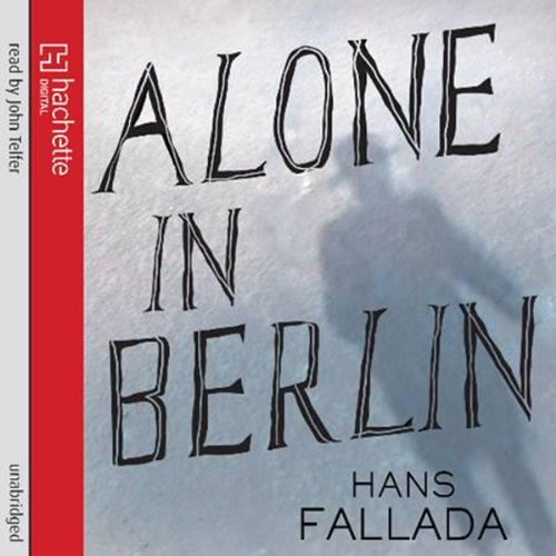 Alone in Berlin audiobook cover art