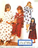 OOP McCall's Pattern 8546. Girls Szs 7/8; 8/10; 12/14 Nightgown; Nightshirt & Pajamas. Designs by Lanz of Salzburg