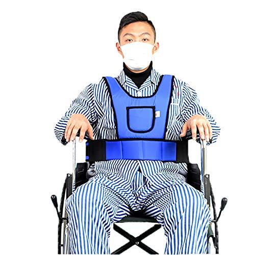 N \ A Cinturón De Seguridad para Silla De Ruedas Tipo Chaleco, Cinturón De Posicionamiento De Seguridad Cruzado En El Pecho Ajustable para Evitar Que Las Personas Mayores Se Deslicen hacia Adelante