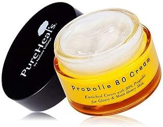 Korean Cosmetics PureHeals Propolis 80 Cream 50ml (1.69oz) - Hydrating Luster Radiant
