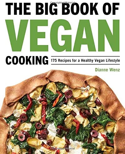 The Big Book of Vegan Cooking 175 Recipes for a Healthy Vegan Lifestyle product image