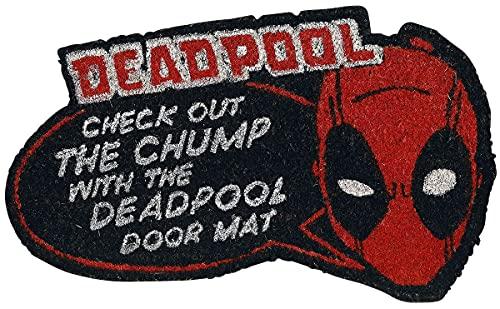 Felpudo Deadpool Check out The Chump Impreso de Fibra de Coco y Base de PVC.