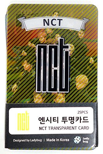 SM Entertainment NCT - Transparent Photo Cards 25pcs [Fan Goods]