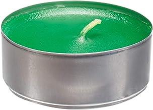 شمع صغيرة الحجم ، رائحة التفاح ، اخضر
