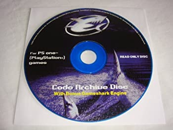Gameshark Code Archive Disc for Playstation 1