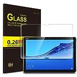IVSO Templado Protector para Huawei MediaPad M5 Lite 10, Premium Cristal de Pantalla de Vidrio Templado para Huawei MediaPad M5 Lite 10.1 Pulgadas, 1 Pack