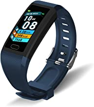 oriver Waterproof Heart Rate Monitor, Activity Tracker with Pedometer, Blue