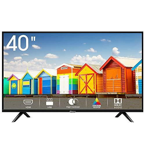 """Hisense H40BE5000 TV LED HD 40"""", USB Media Player, Tuner DVB-T2/S2 HEVC Main10 [Esclusiva Amazon - 2019]"""